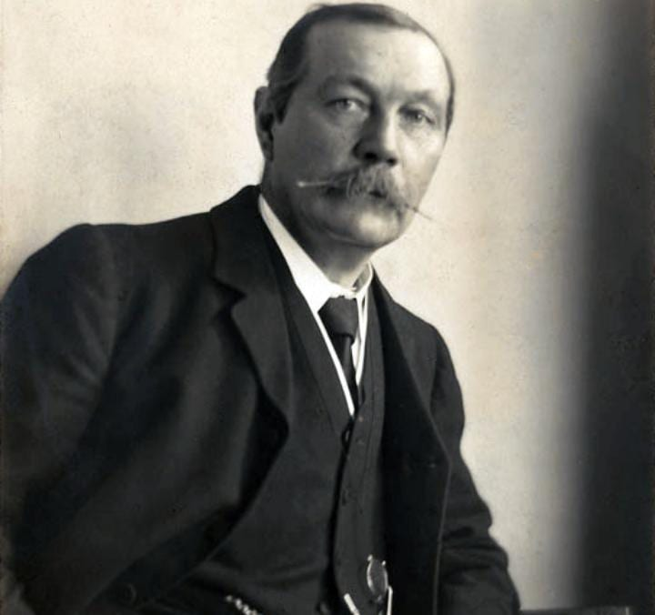 May 22, 1859: Sir Arthur Conan Doyle is born