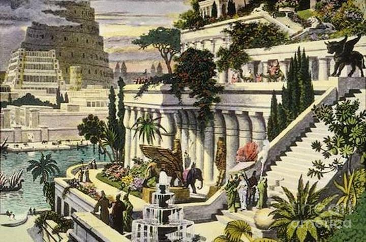 The Hanging Gardens of Babylon may not have been so Babylonian after all