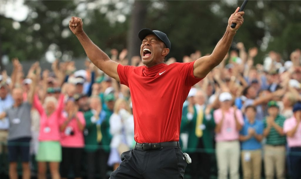 Tiger woods wins Masters at PGA Championship, Tiger Woods
