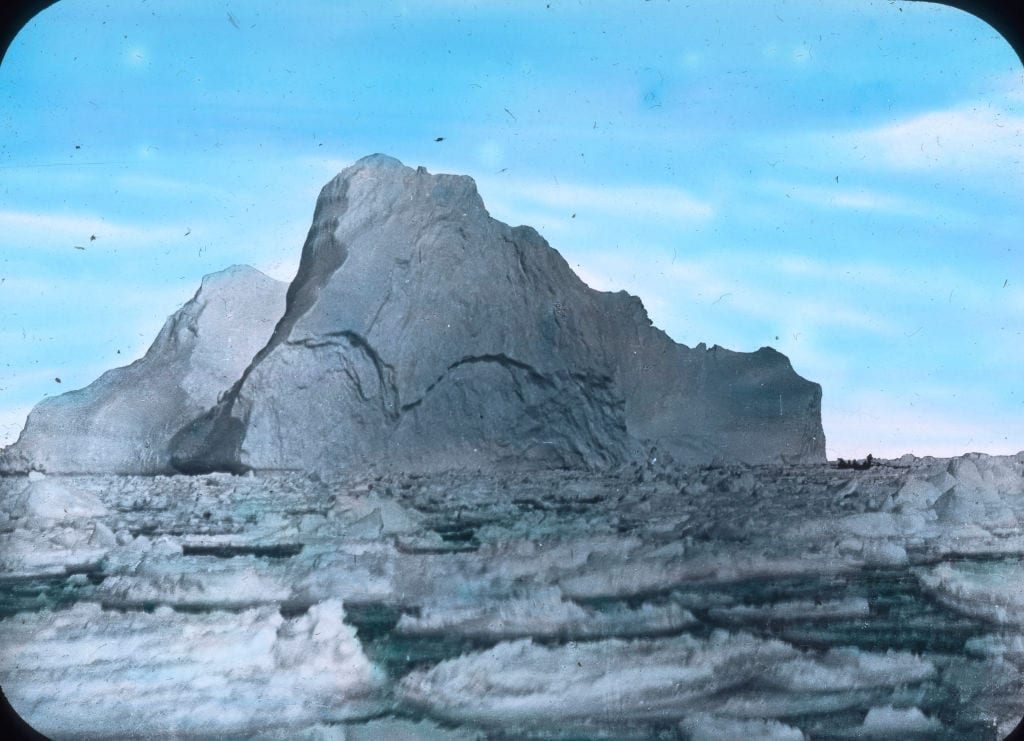 The iceberg that hit the titanic