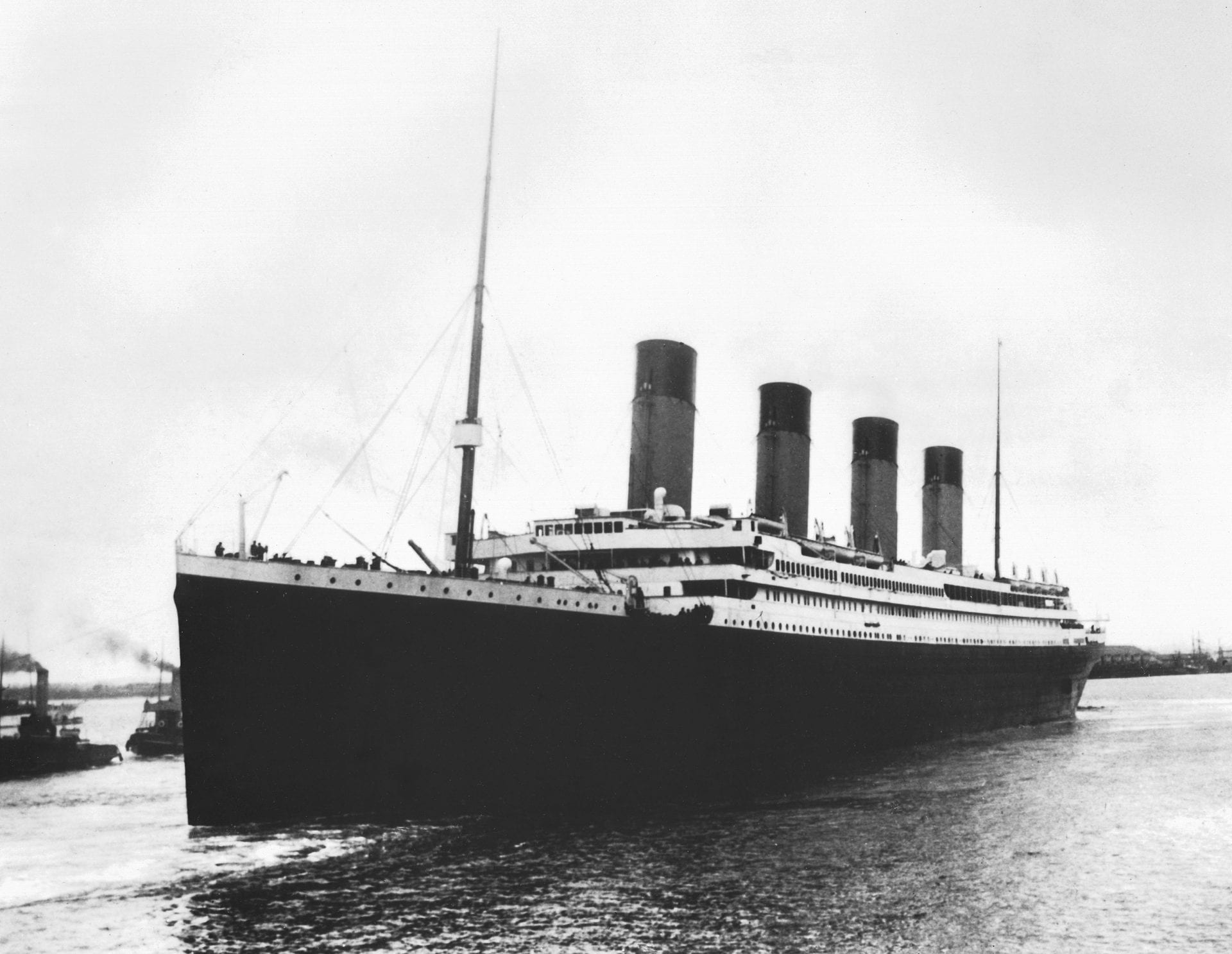 Titanic at port, Titanic before it sank