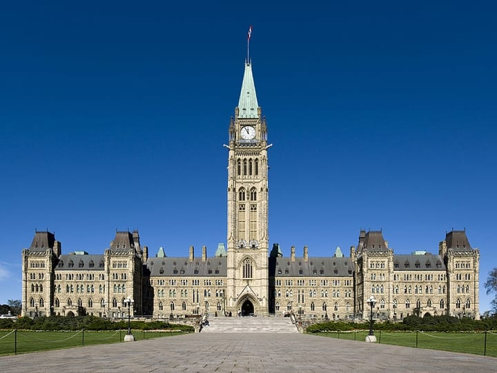Parliament Hill in present day