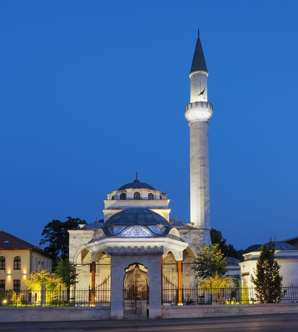 Ferhat Pasha Mosque modern day