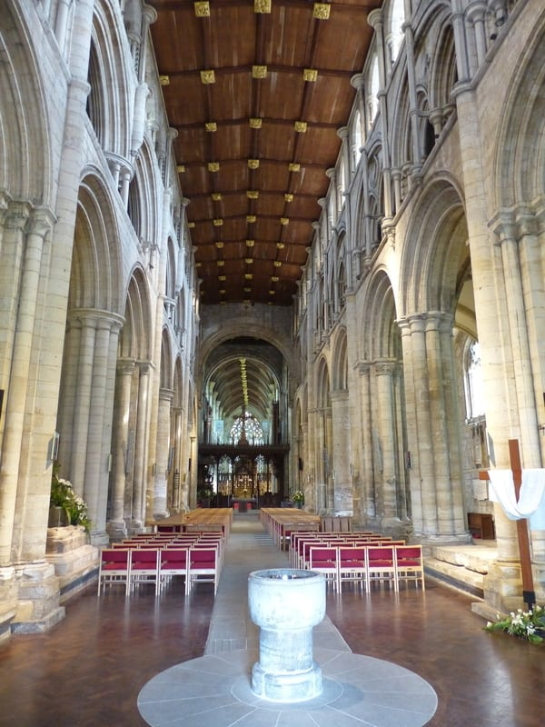 Selby Abbey modern day picture
