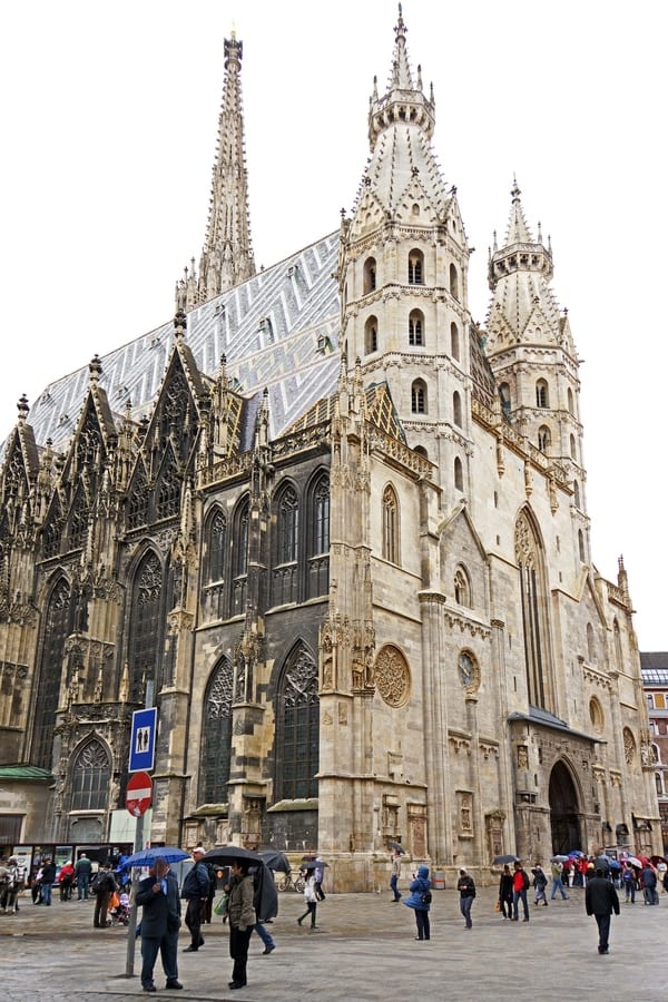 Rebuilt St. Stephen's Cathedral