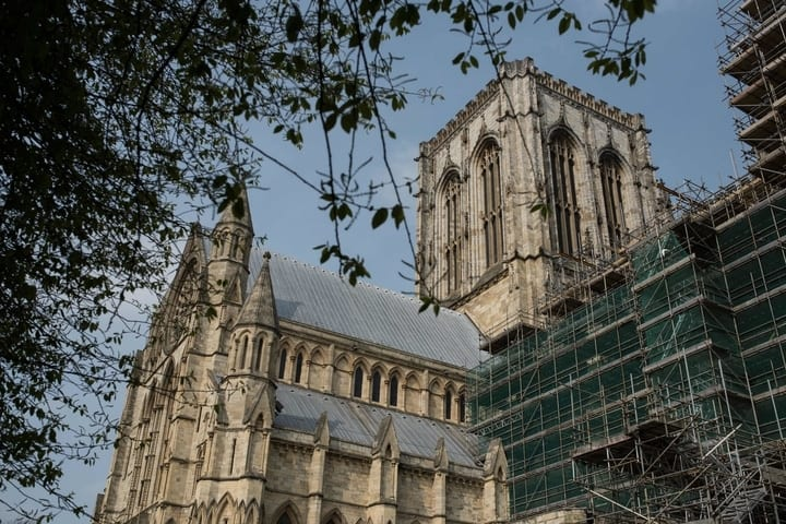 Recent picture of the York Minster South Transept