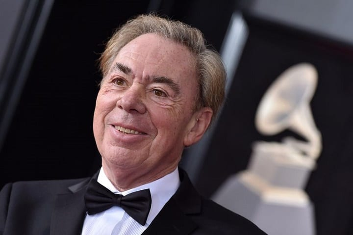 Andrew Lloyd Webber is richest musician in the world