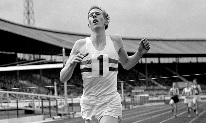 May 6, 1954: Roger Bannister runs first ever four-minute ...