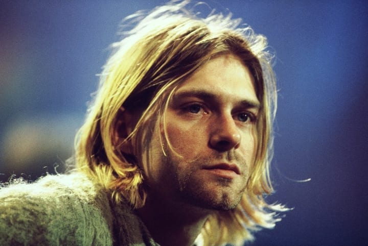 Kurt Cobain Nirvana Rock and Roll 27 Club