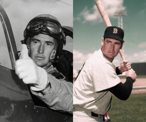 Ted-Williams-celebrities-in-uniform-Major-League-Baseball-Boston-Red-Sox-Marines-USMC