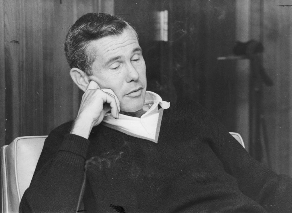 Johnny Carson during 1966 interview