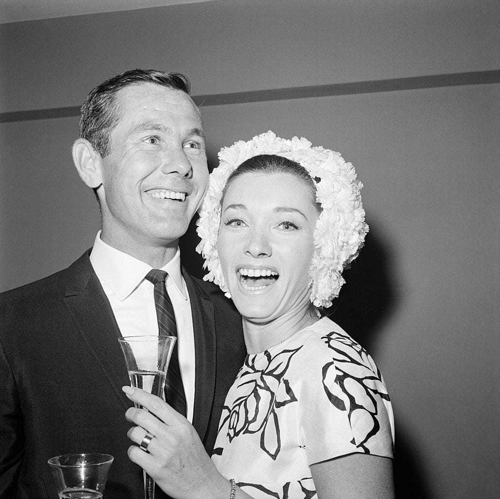 Johnny Carson And His Bride