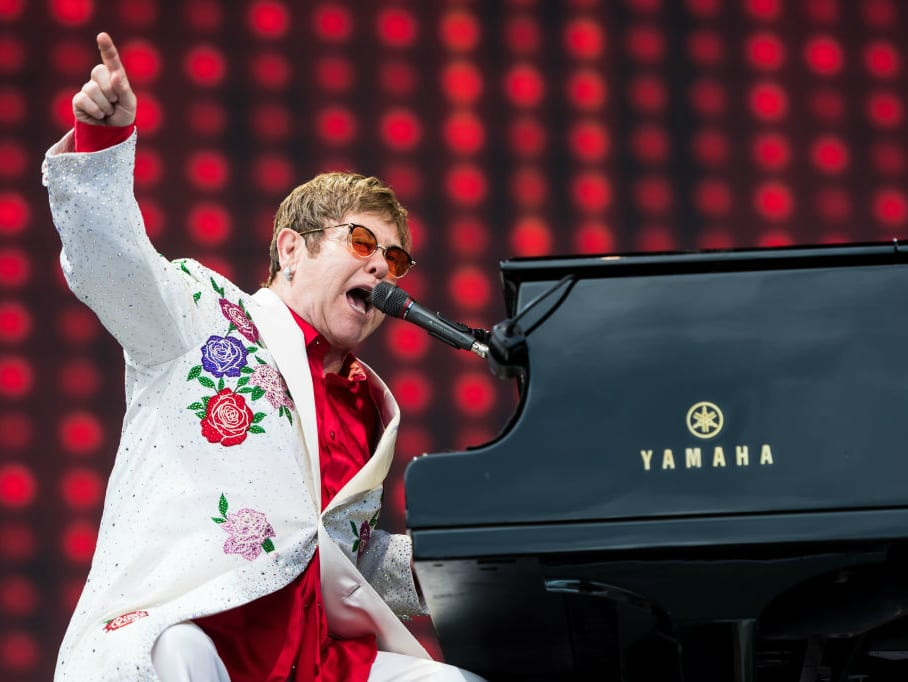 Rhinestones, sunglasses, and rock 'n' roll: Elton John, the musical genius