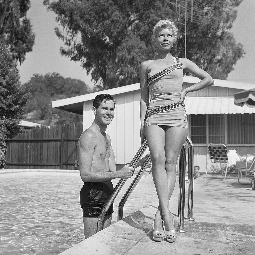 July 5, 1956, California, Johnny Carson, At home with wife Jody