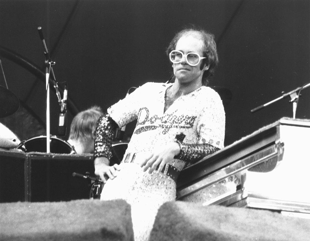 Elton John File Photos 1970's