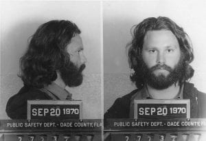 Jim-Morrison-mugshot-September-1970