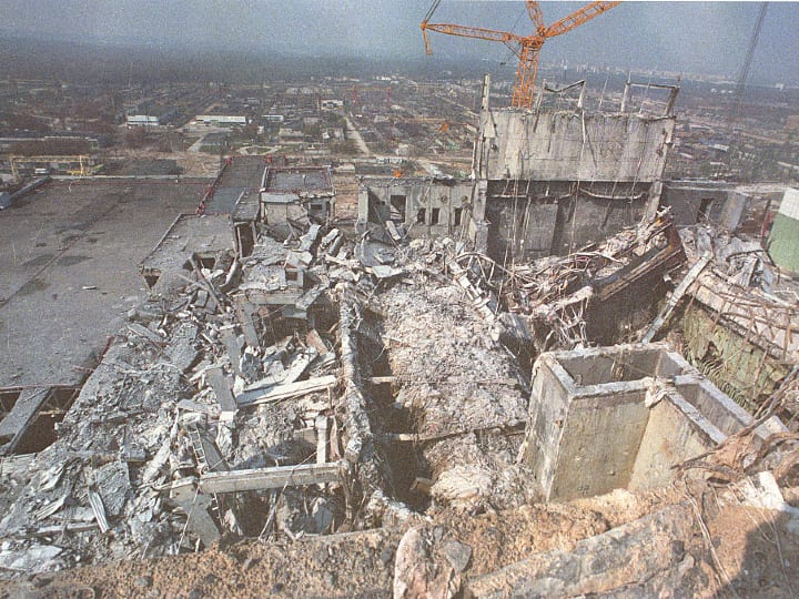 Chernobyl nuclear reactor incident.