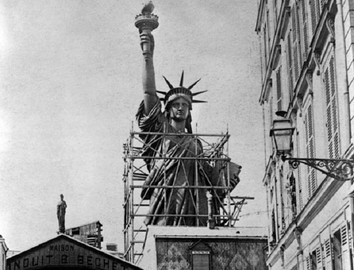June 17, 1885: The Statue of Liberty arrives home