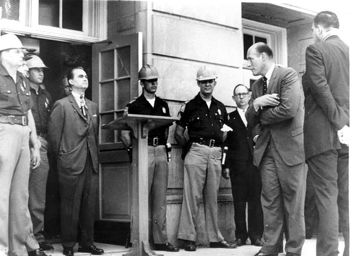 June 11, 1963: the University of Alabama desegregated by executive order