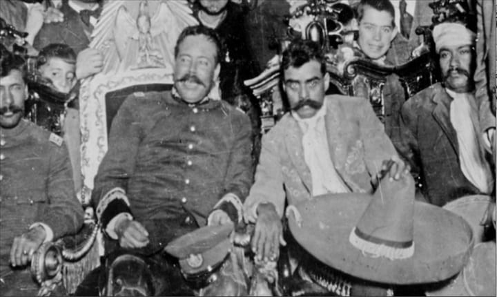 How did the Mexican revolution begin?
