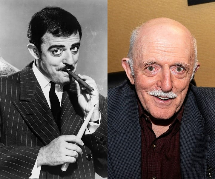 John Astin as Gomez and in present day