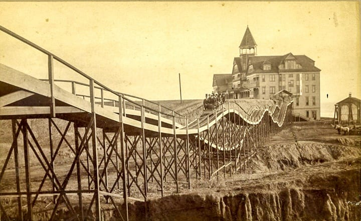 June 16, 1884: The first roller coaster in America opens at Coney Island