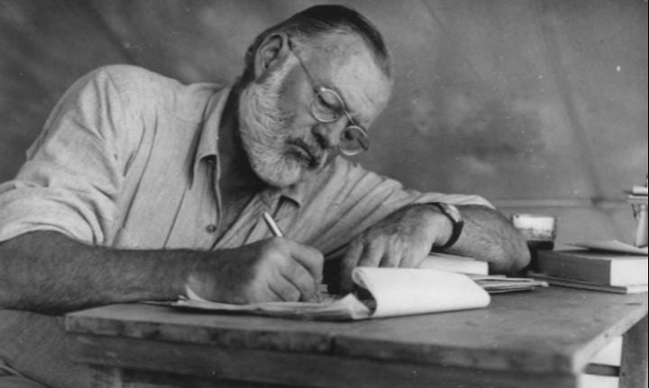 July 21, 1899: Literary icon Ernest Hemingway is born
