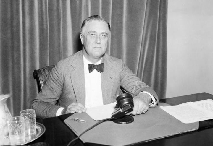 July 18, 1940: FDR received his third presidential nominaton