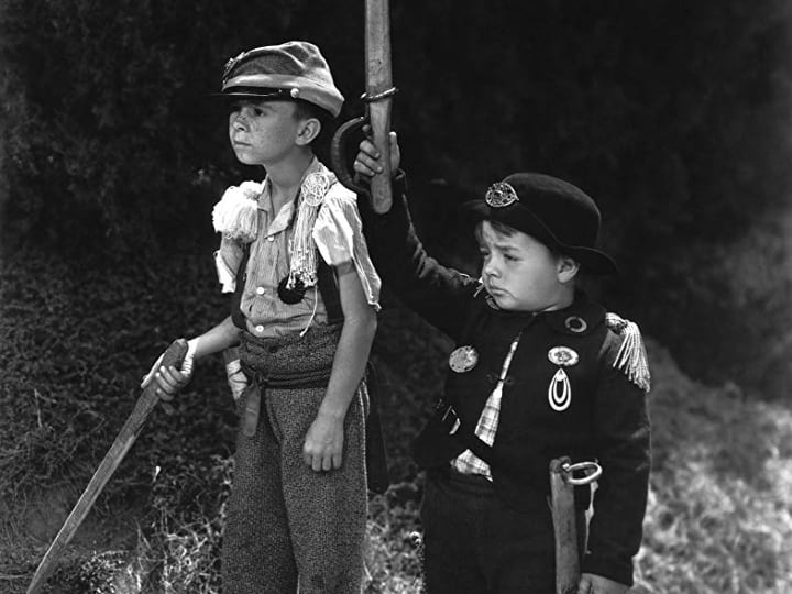 General Spanky, feature film, Our Gang, Little Rascals