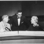 First Lady Eleanor Roosevelt and House Representative Margaret Chase Smith.