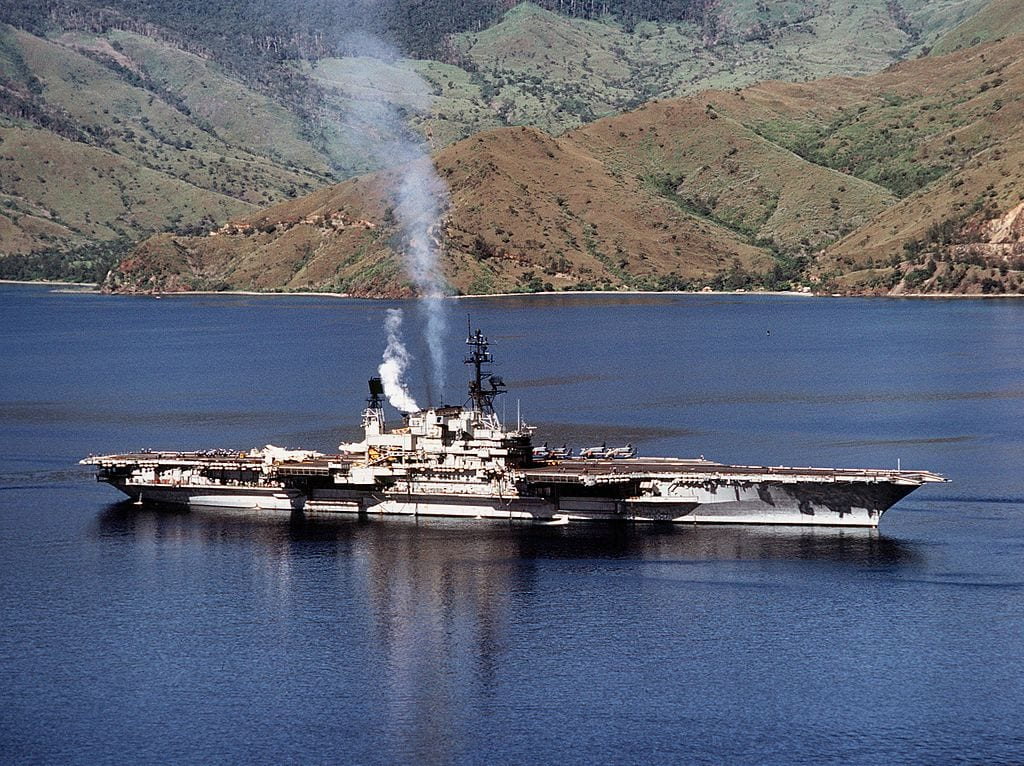 USS Midway, giant aircraft carrier, museum, US Navy