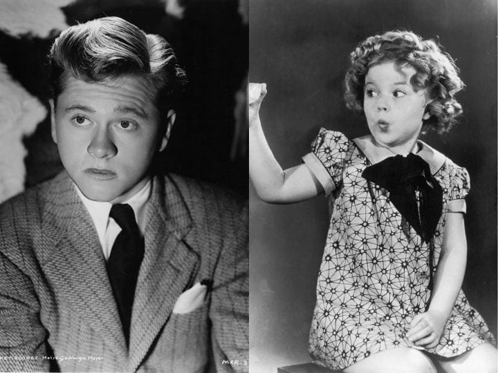 Mickey Rooney and Shirley Temple, Failed auditions, Little Rascals