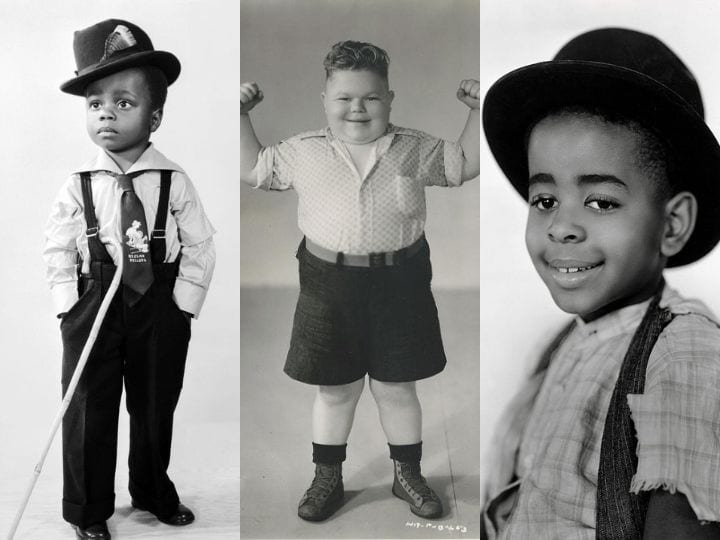 Chubby, Stymie, Buckwheat, competition, talent, child actors, The Little Rascals