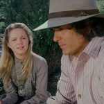Mary Ingalls and Pa Ingalls, Little House, Melissa Sue Anderson, Michael Landon