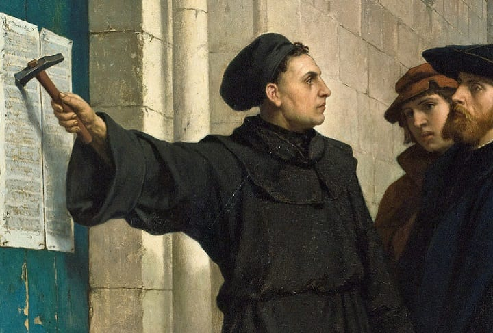 Martin Luther's 95 Theses: How a single document started a religious revolution