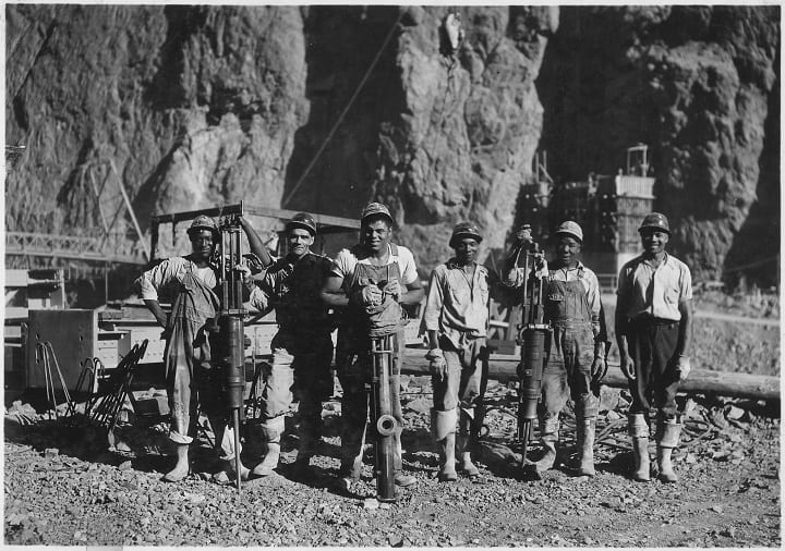 July 7, 1930: Construction begins on the Hoover Dam