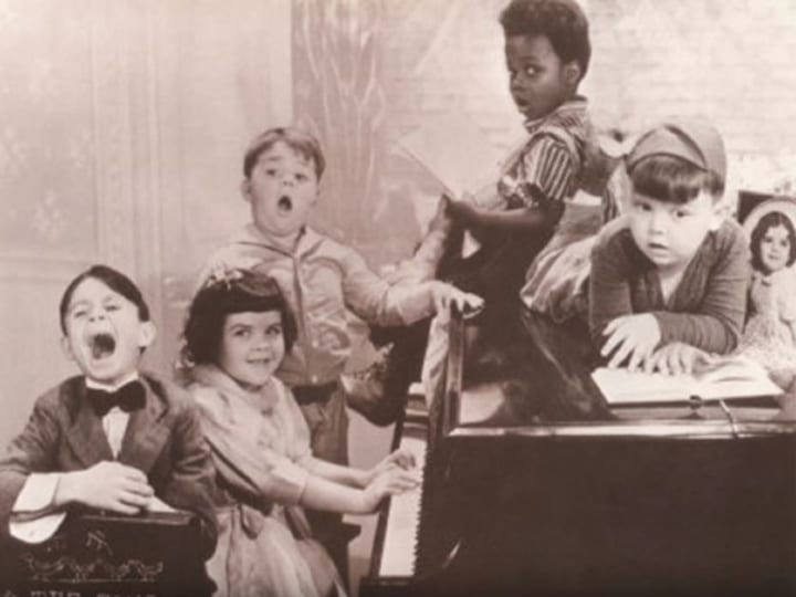 Our Gang song, theme song, The Little Rascals