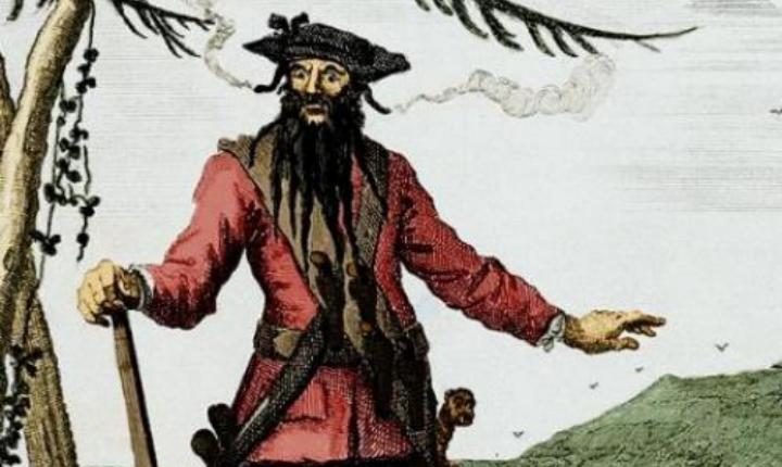 The last days of Edward Teach, AKA Blackbeard