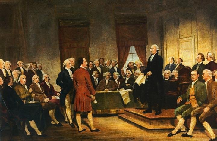 August 6, 1787: The Constitutional Convention debates the first draft of the U.S. Constitution