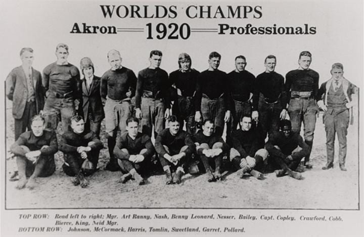 August 20, 1920: Precursor league to the NFL is born