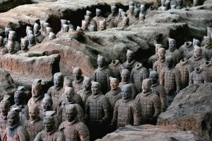 Terracotta-warrior-army-Emperor-Qin-Shi-Huang-river of-mercury