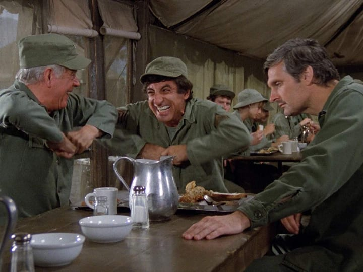 M*A*S*H, long-running show, eating