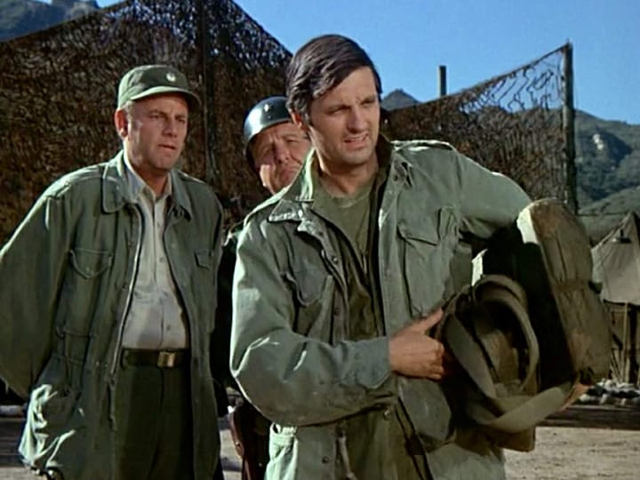 Captain Tuttle, M*A*S*H, imaginary character