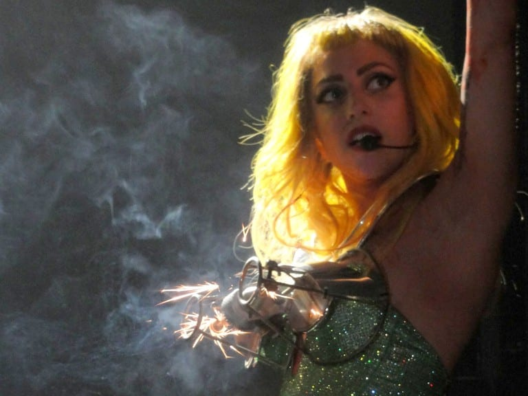 The-Simpsons-predictions-of-the-future-lady-gaga-pyro-bra