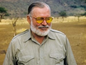 Ernest-Hemingway-predicted-his-own-death-suicide-shotgun