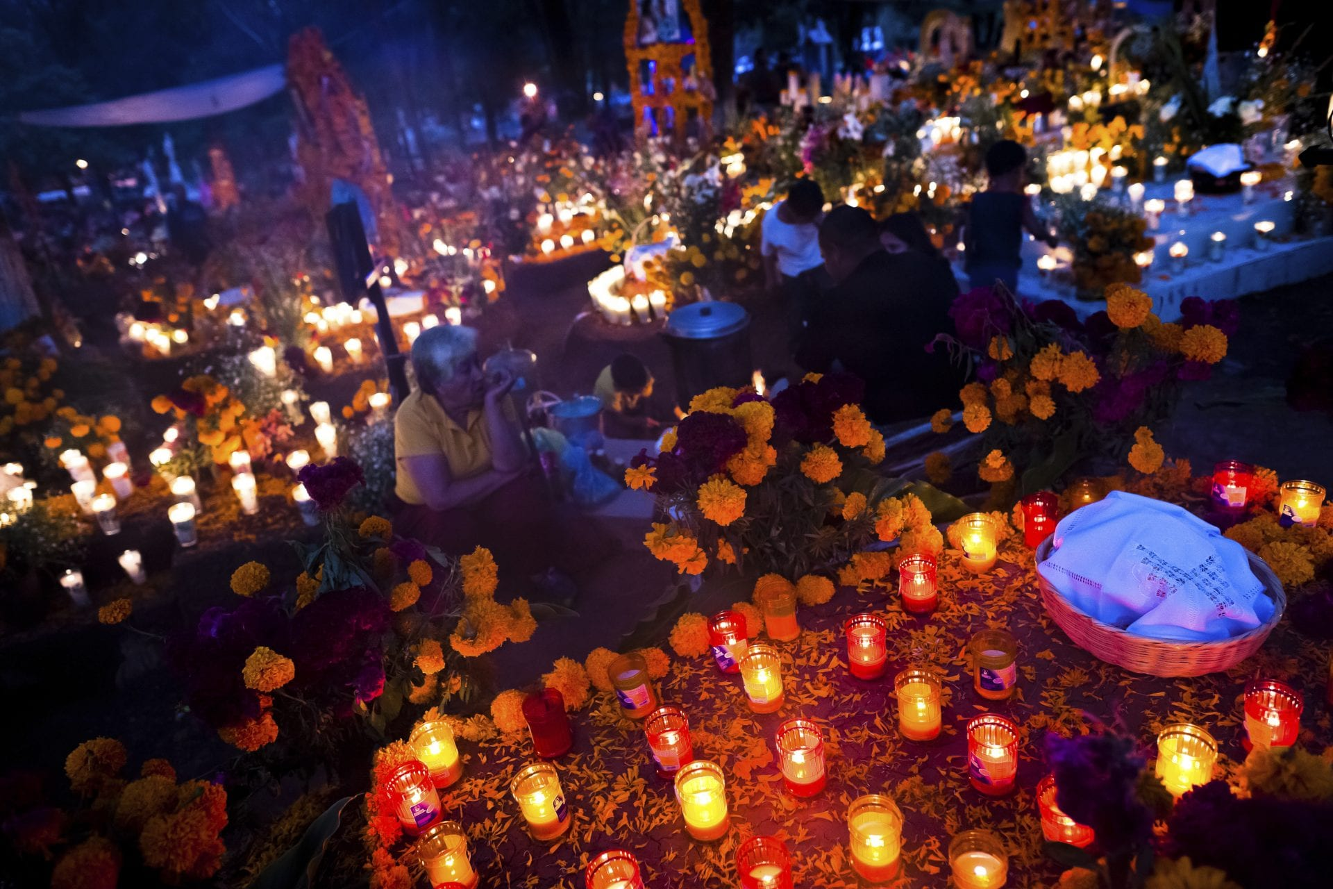 Day of the Dead Celebration in Michoacán, Mexico