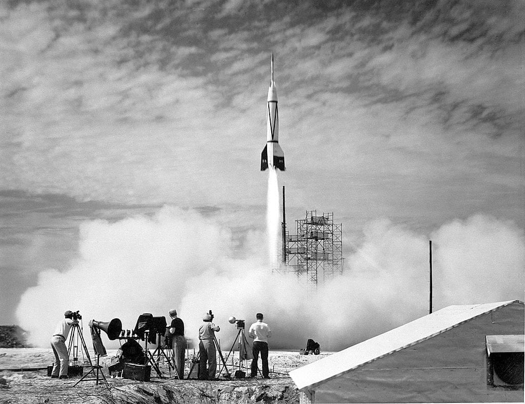 Operation Paperclip and the rocket race