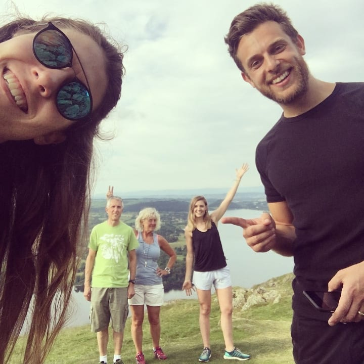 whole family, hiking, outdoors