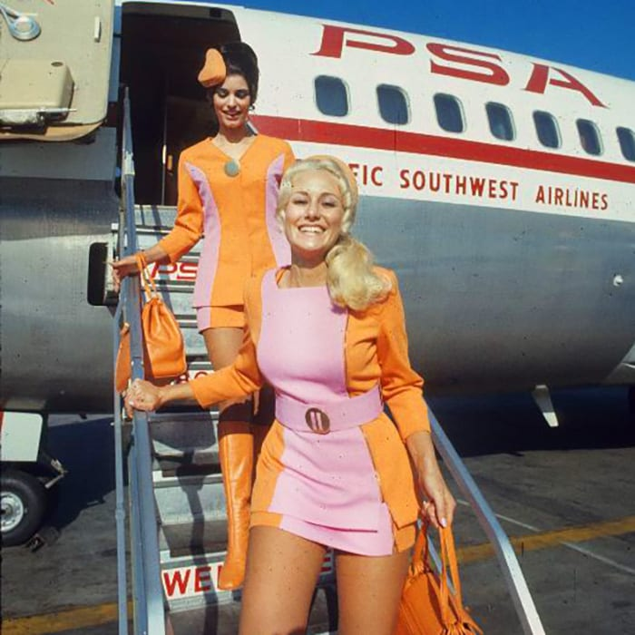 Vintage photos reveal the glamour of the 'golden age of air travel'