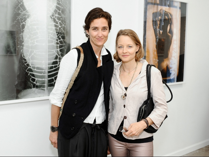 Alexandra Hedison and Jodie Foster